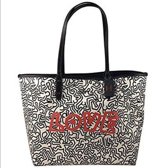 Keith Haring Party Tote Bag